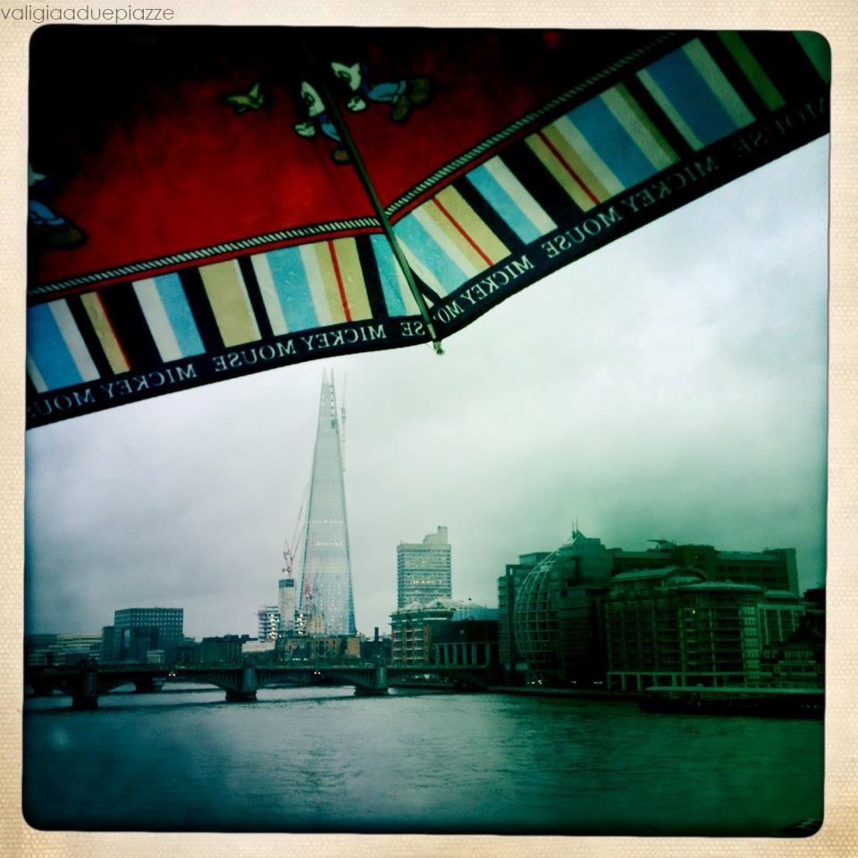 Il Bankside visto dal Millennium Bridge (si riconosce la Scheggia di Piano)