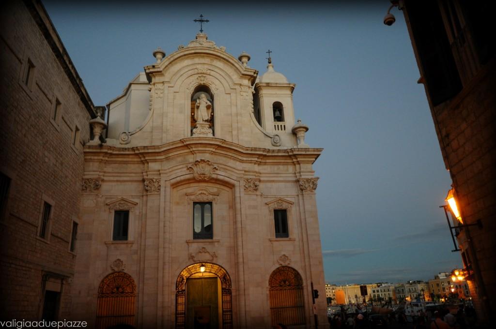 La chiesa barocca di Santa Teresa