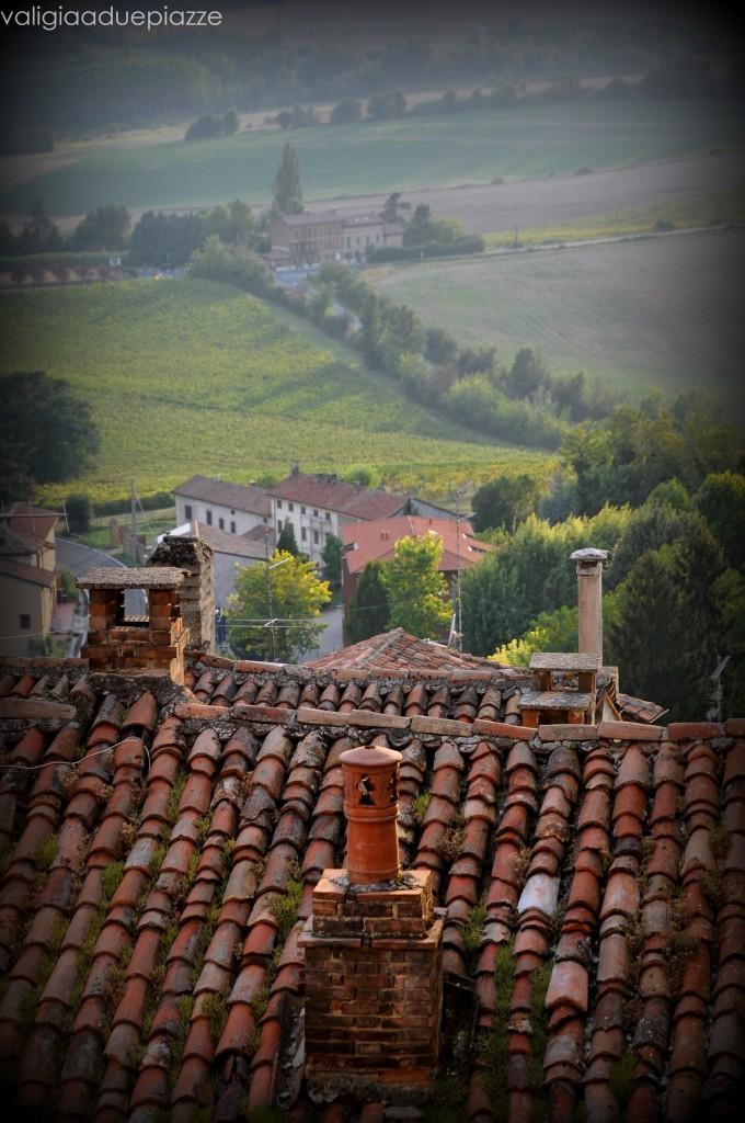 Il panorama da Vignale Monferrato