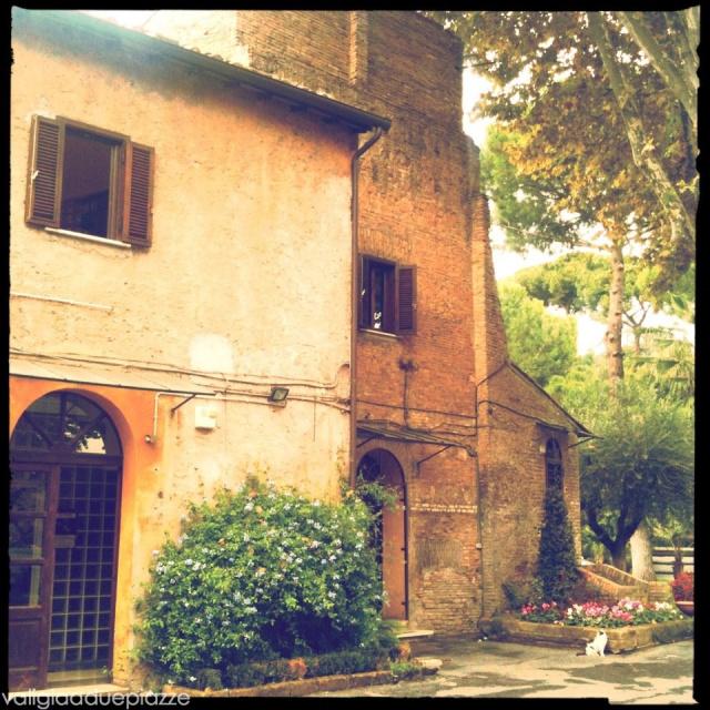 La sede dell'Assessorato alle Politiche Ambientali e Agricole del Comune di Roma, a lato dell'Aranciera