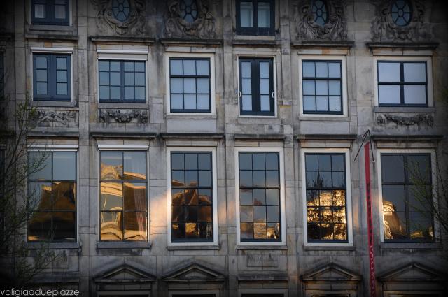 Riflessi finestre Amsterdam