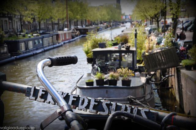 scorcio canali Amsterdam