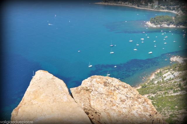 Uno dei belvedere tra Cassis e La Ciotat a quasi 400 metri sul livello del mare