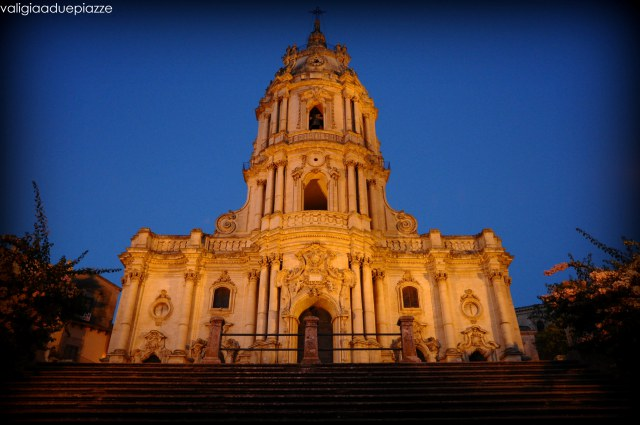 Modica Duomo tramonto