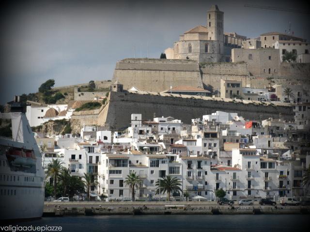 Il castello di Eivissa a Ibiza