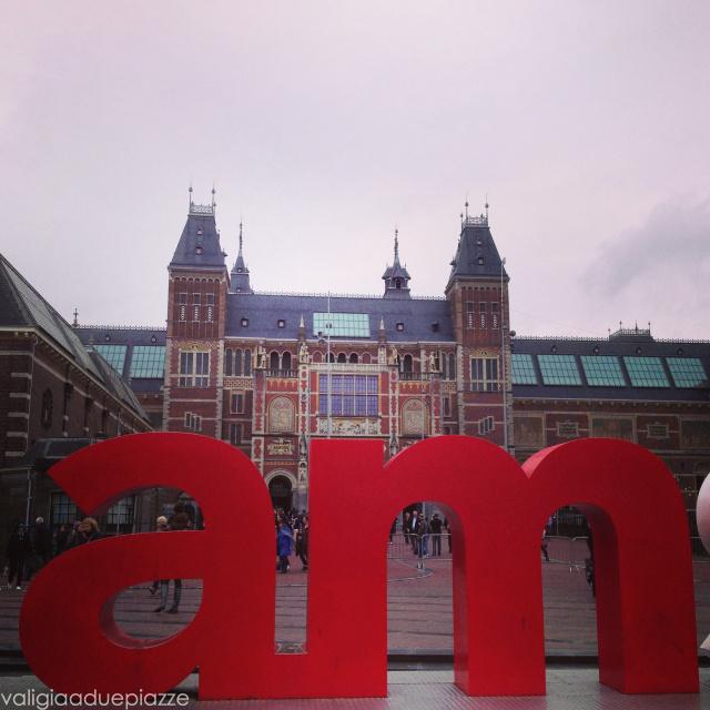 I Amsterdam scritta foto