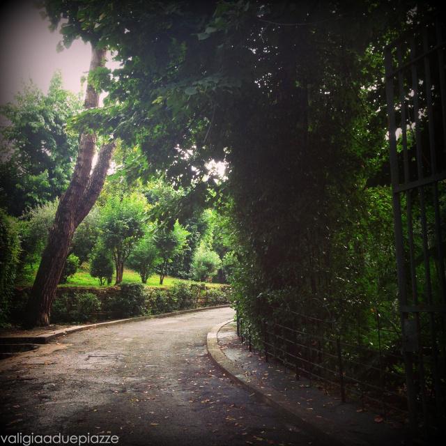 Salendo verso il Mausoleo