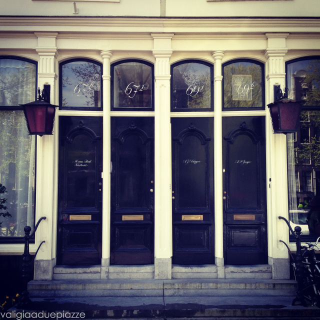 ingresso casa Amsterdam