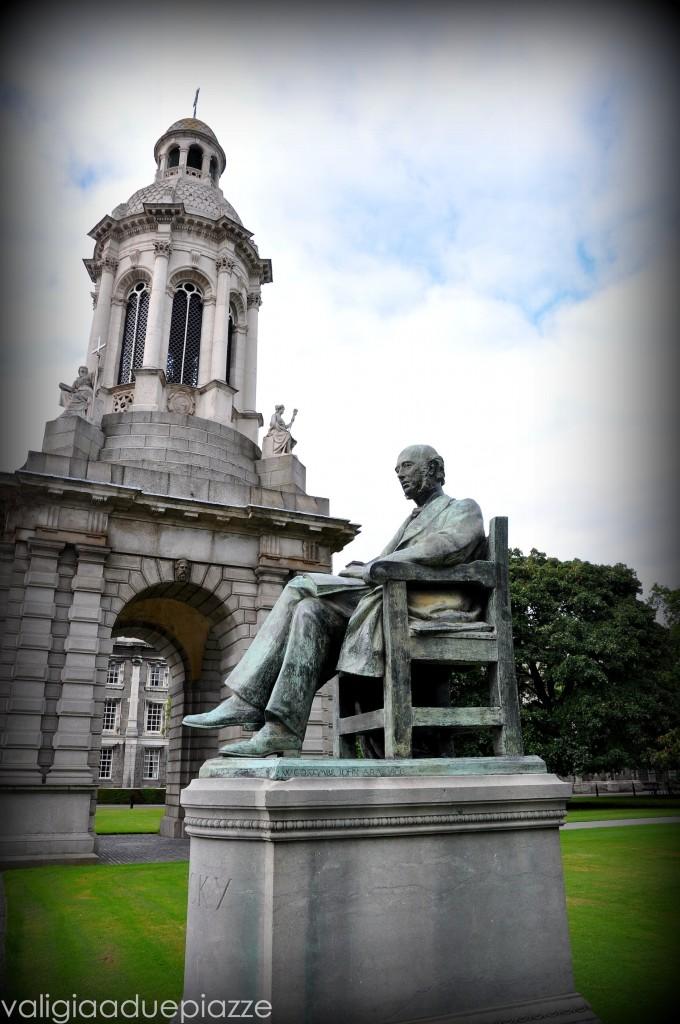 Cortile Trinity College Dublino