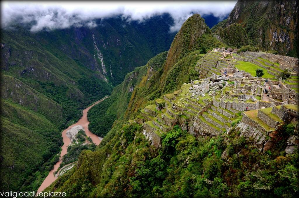 Machu Picchu e fiume Urubamba