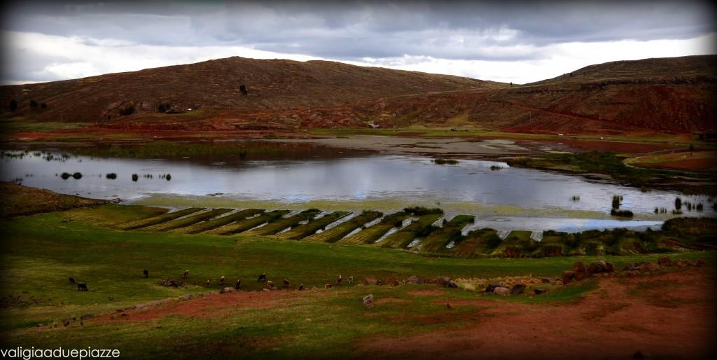 Sillustani lago Umayo Perù