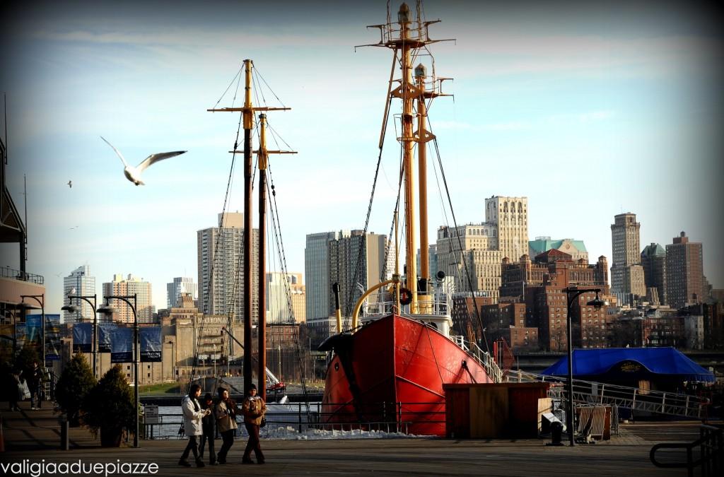 Seaport New York pontile