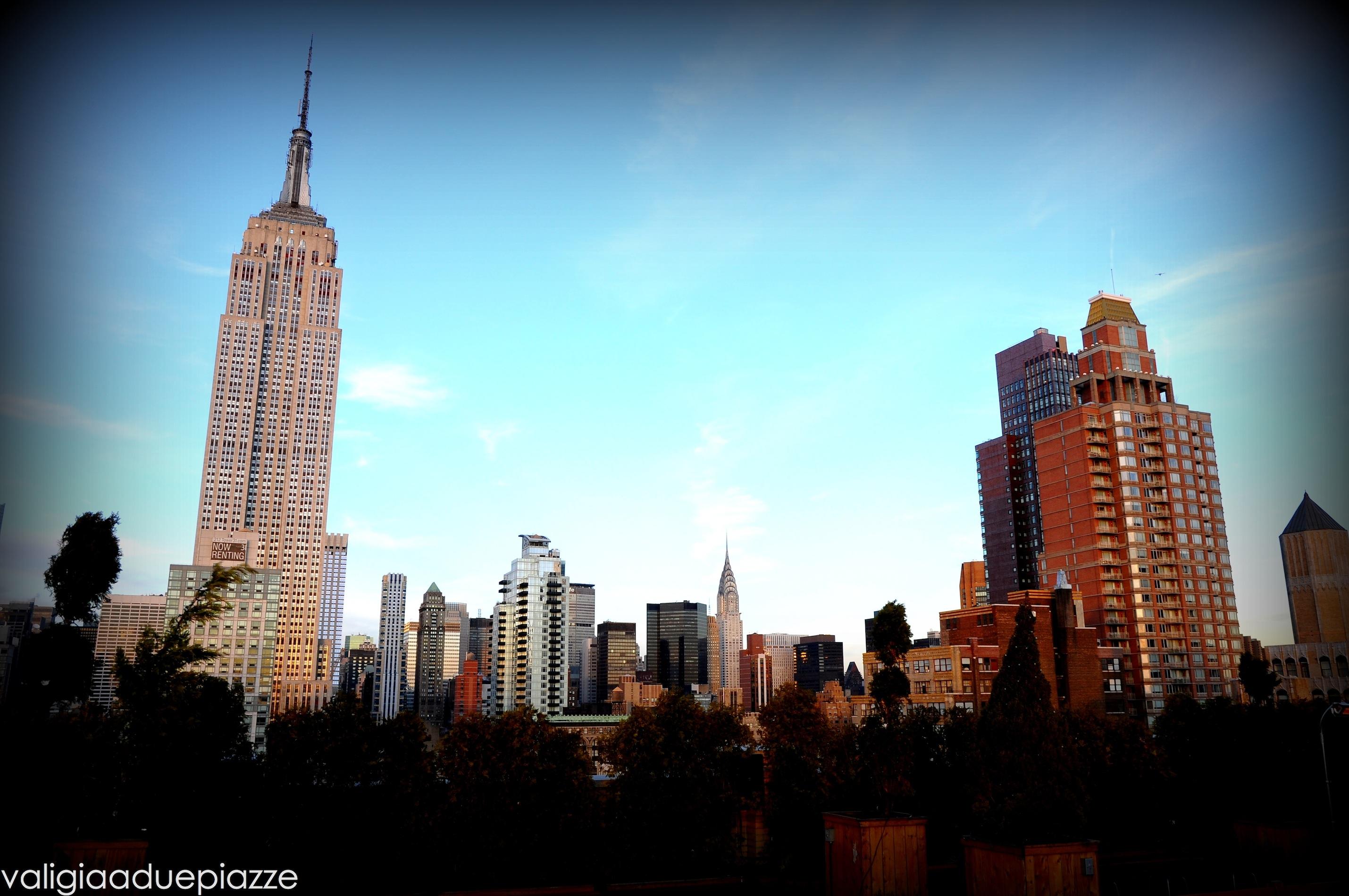 New York, sui tetti di Manhattan