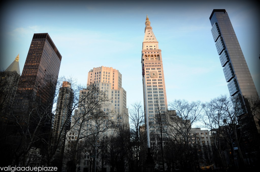 Flatiron district panorama