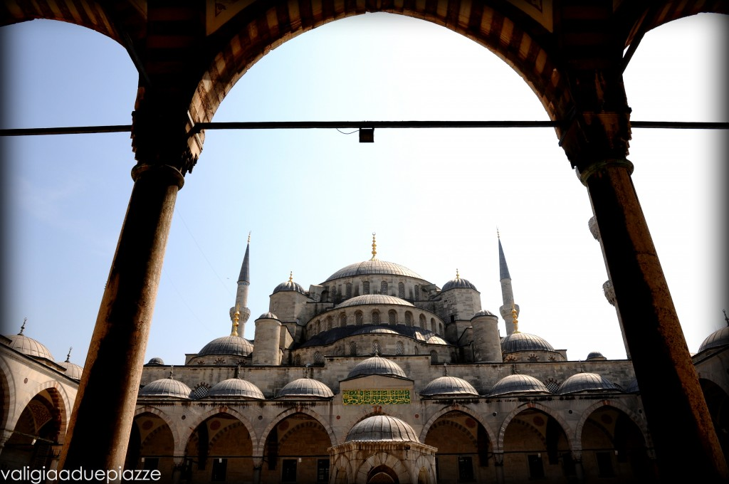 Cortile interno Moschea Blu