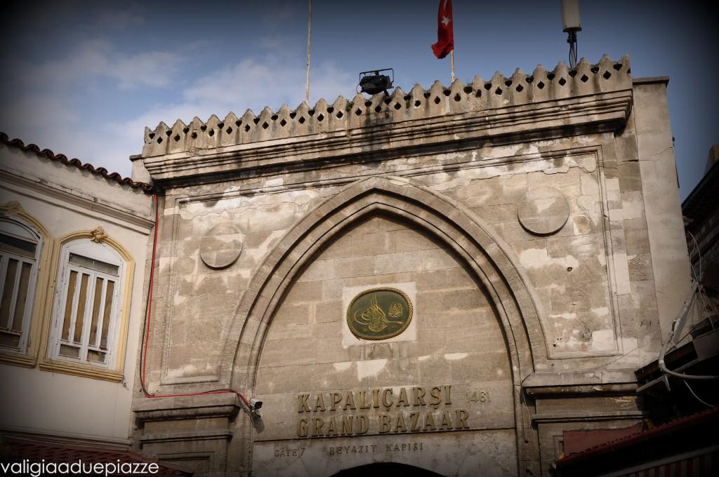 Una delle porte d'ingresso del Grand Bazar