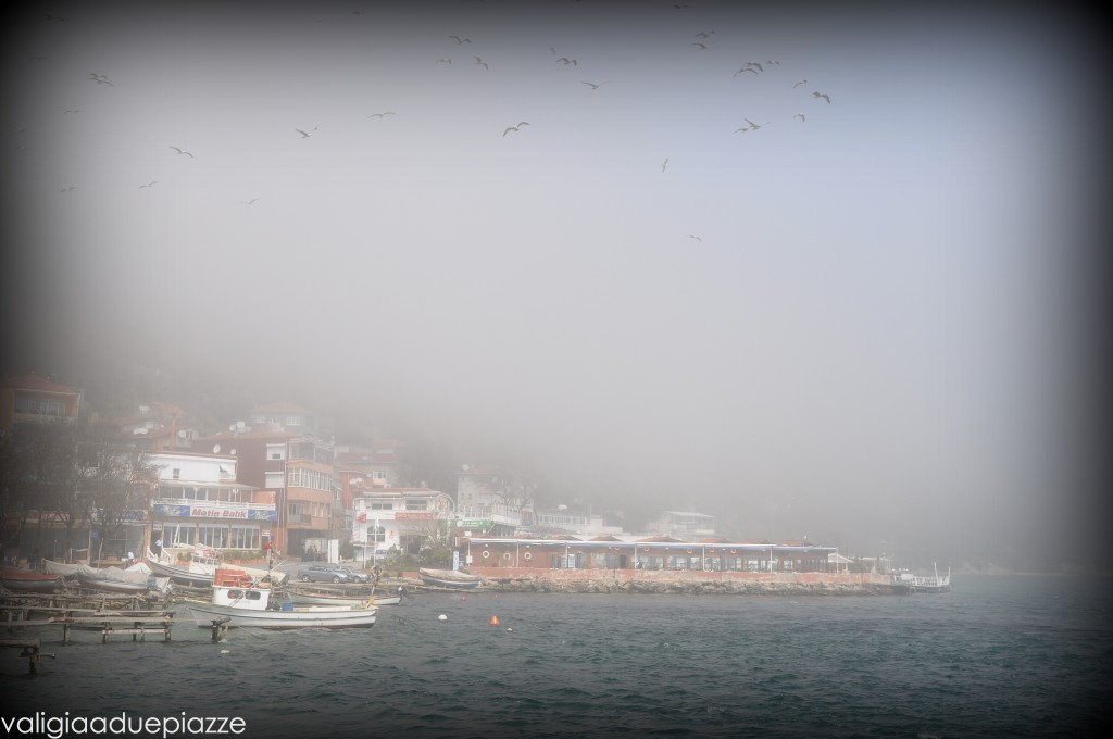 Traghetto lungo il Bosforo