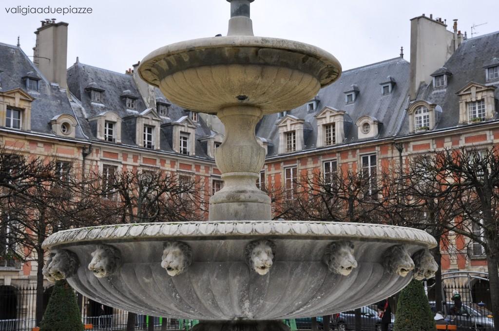 Place des Vosges Parigi