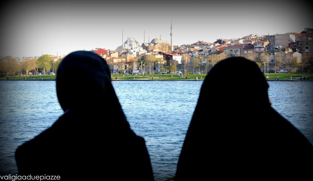 Donne velate Corno d'Oro Istanbul