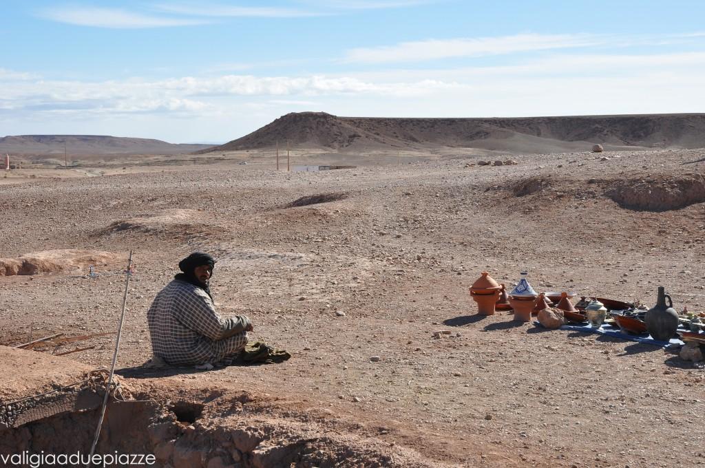 Ouazarzate Marocco venditore