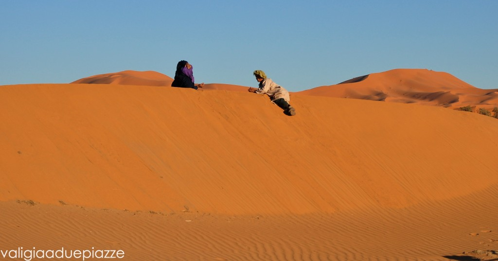Chiacchiere tra le dune Sahara