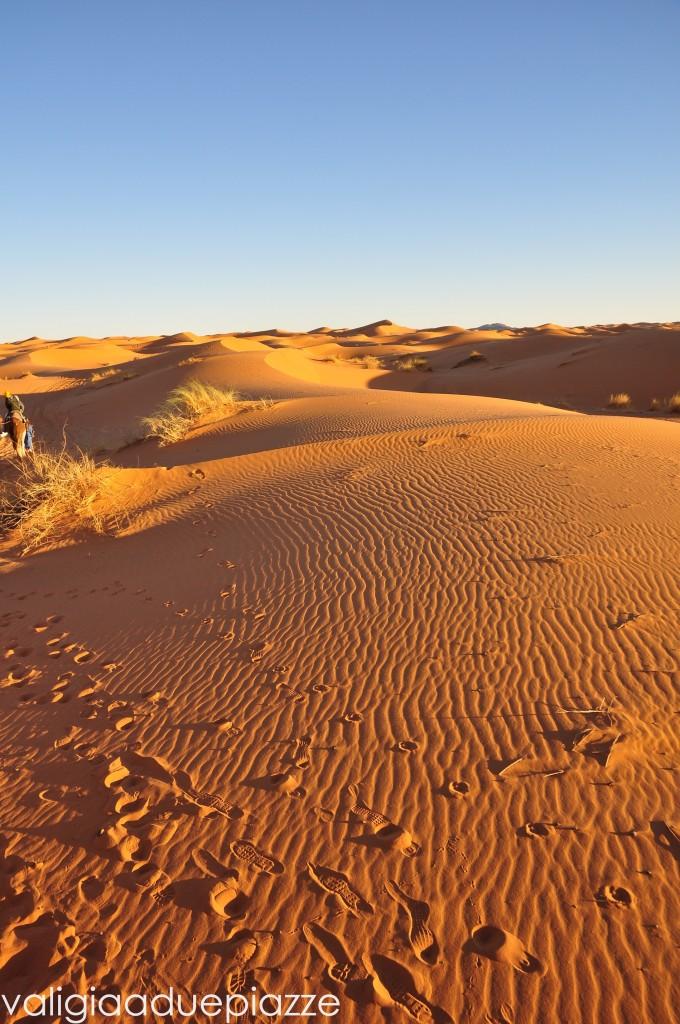 Dune Sahara tramonto