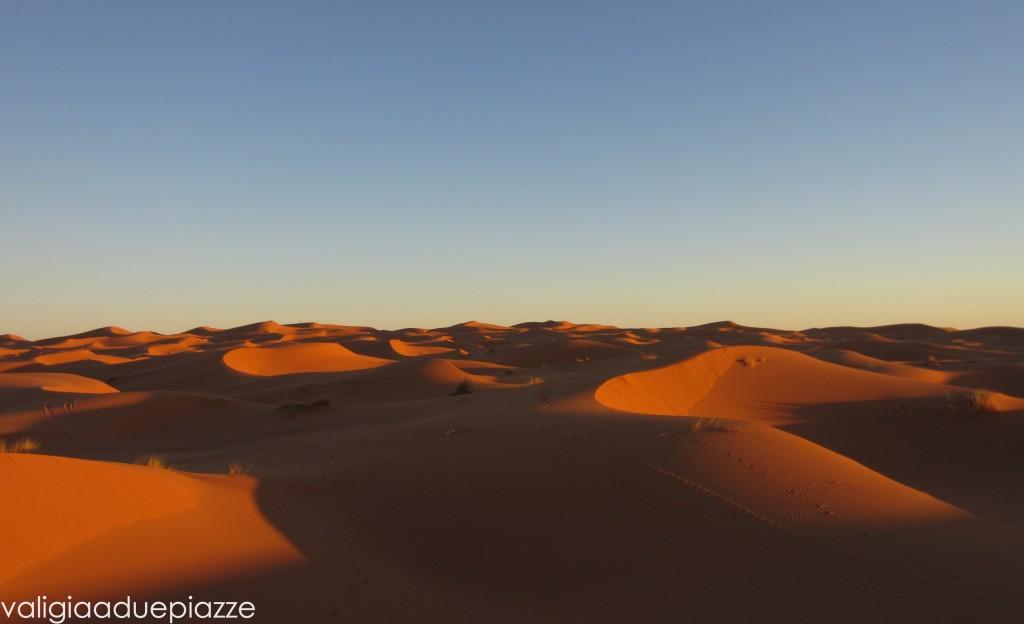 Sahara tramonto