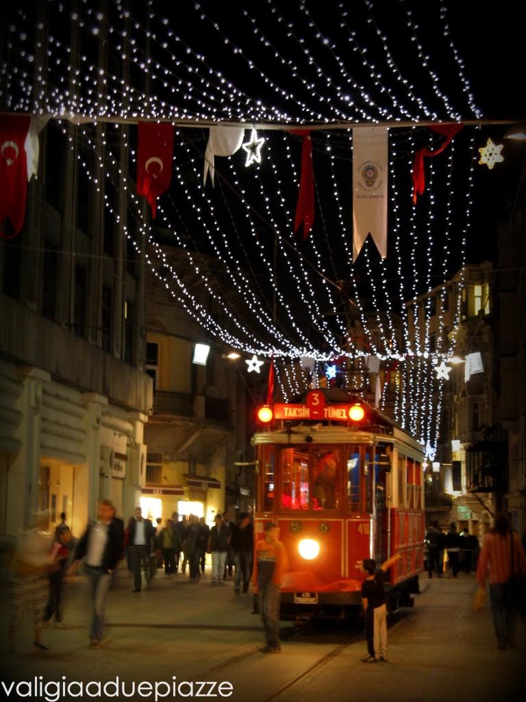 Nostalgic tram Taksim Tunel
