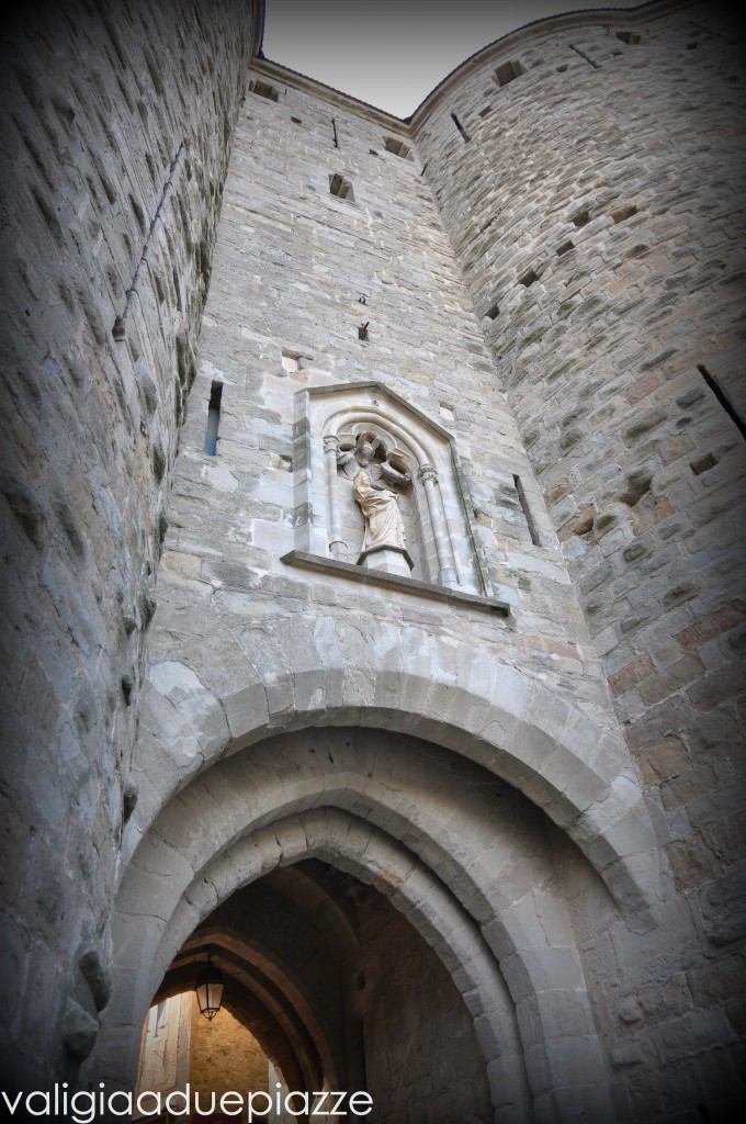 Carcassonne ingresso mura