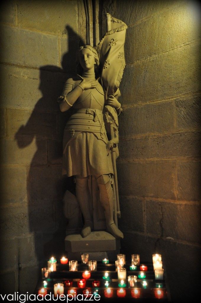 Giovanna d'Arco, interno basilica