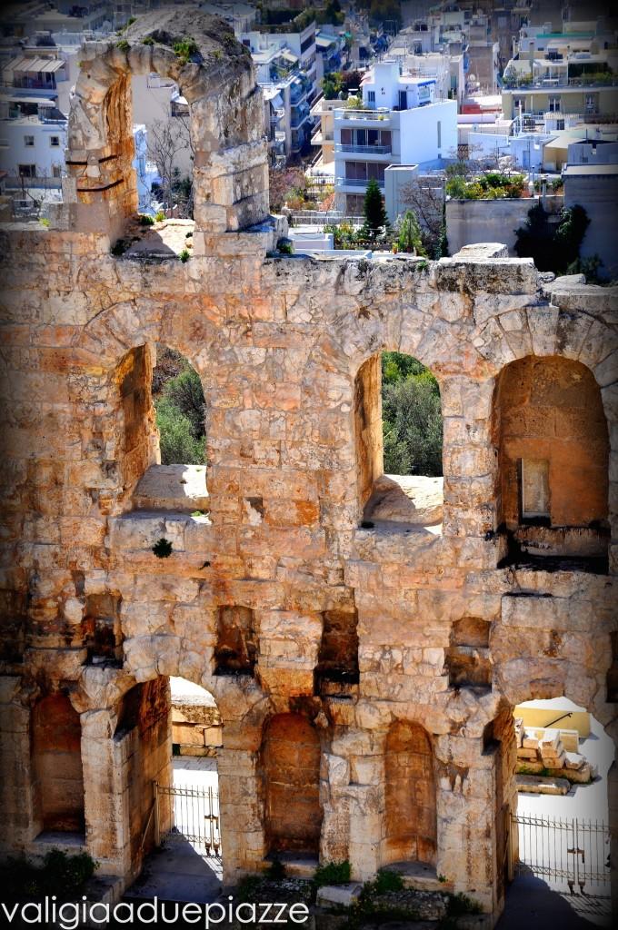Particolare Herodion Atene