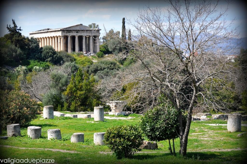 Tempio di Efesto veduta