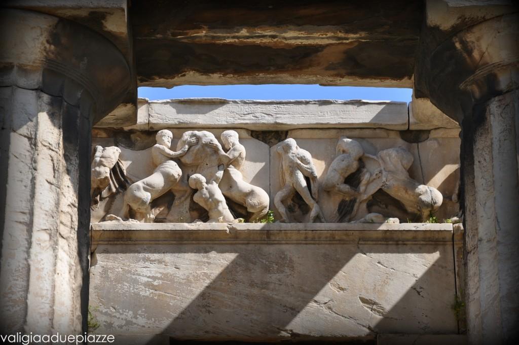 Dettaglio fregio Tempio di Efesto