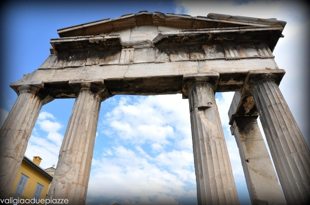 Agorà romana dettaglio