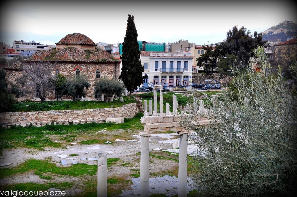 Agorà romana, veduta