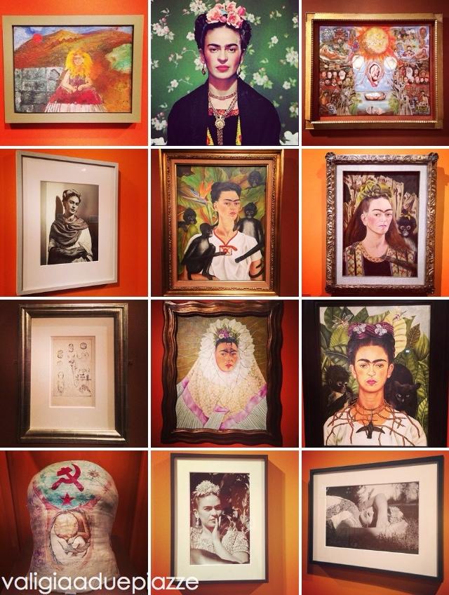 collage Frida Kahlo