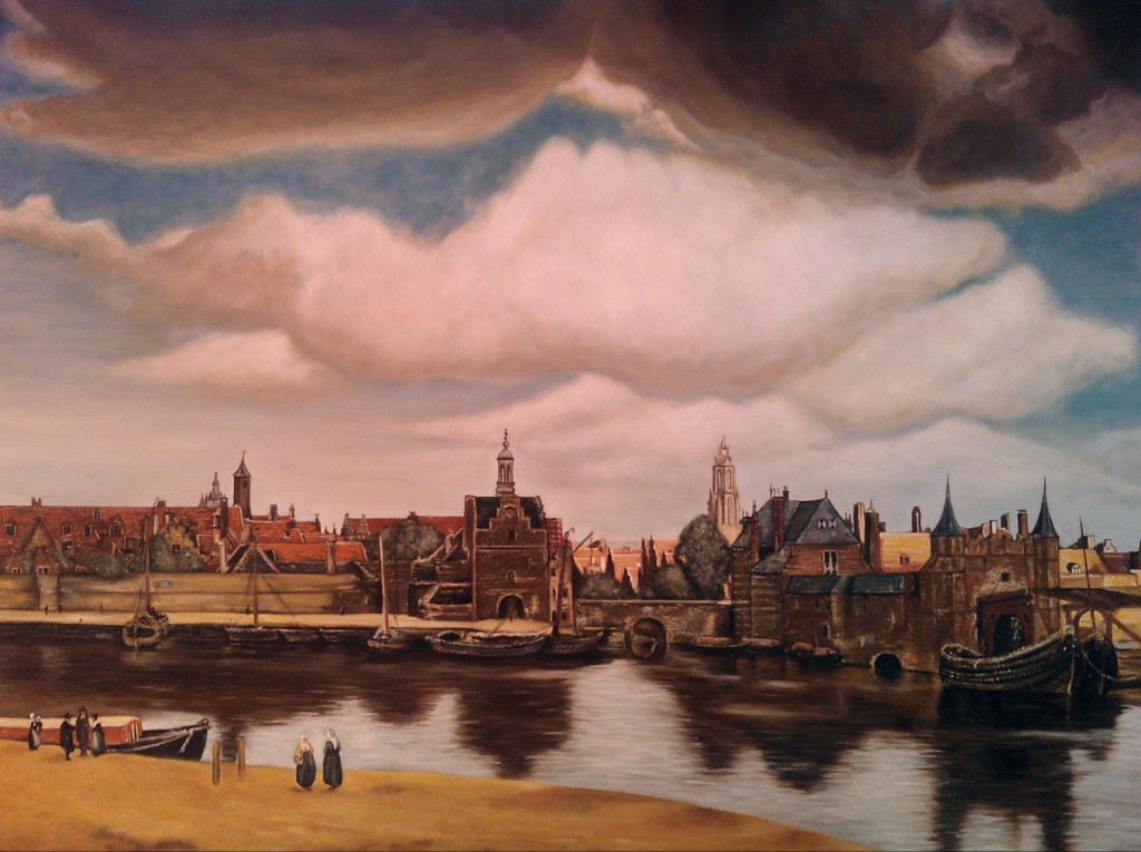 Veduta di Delft Vermeer