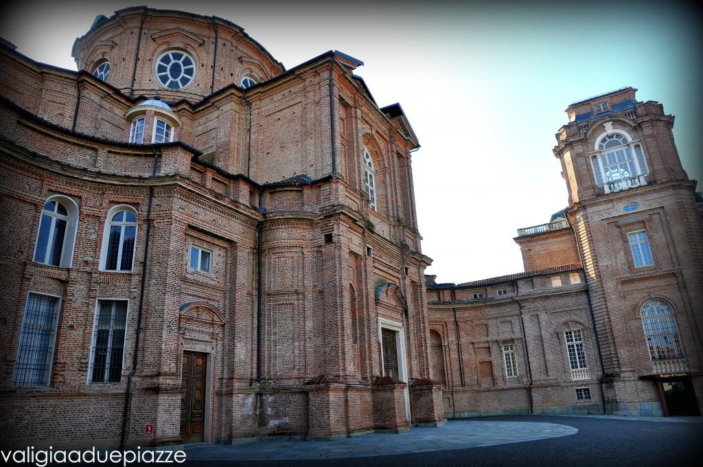 Esterno Cappella reggia di venaria