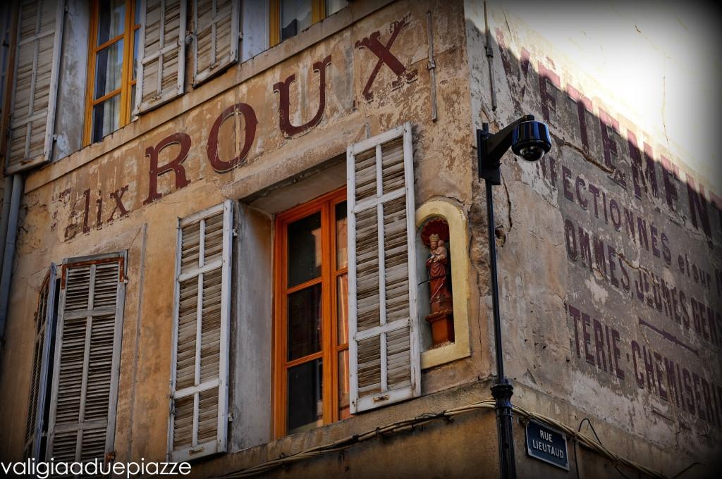 Finestre di Aix en Provence rue lieutard