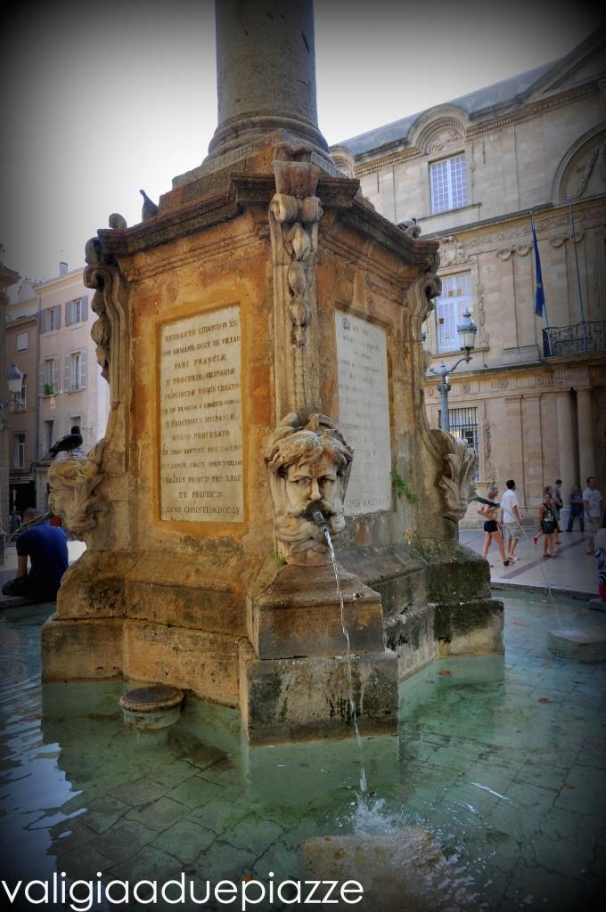 Aix en Provence fontana