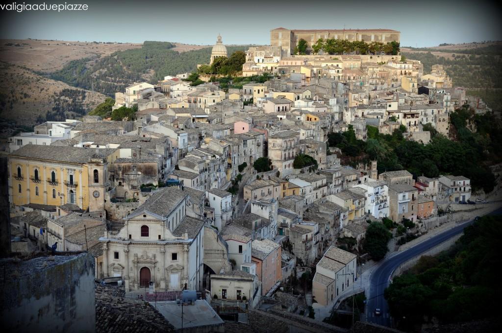 Panorama su Ragusa Ibla