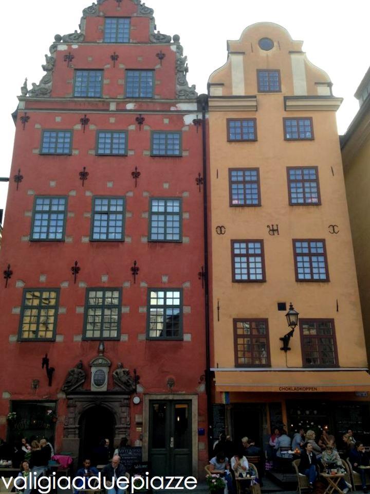 Stortorget, la più antica piazza di Stoccolma