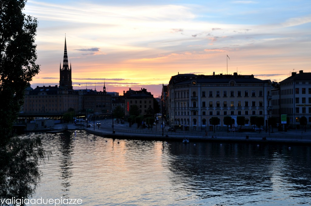 Tramonto Stoccolma