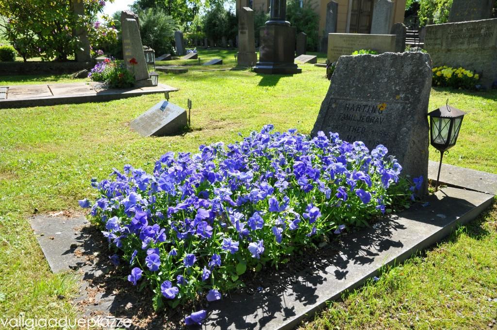 cimitero fiorito stoccolma