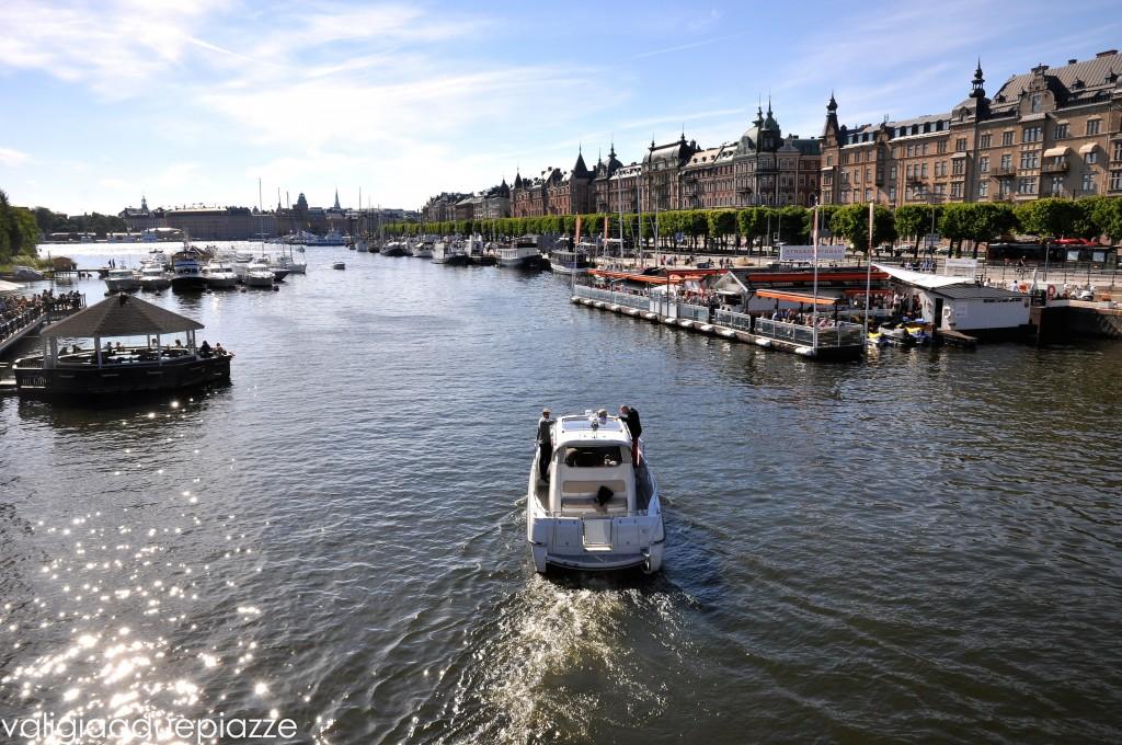 Vista dal Djurgårdsbron verso Ostermalm