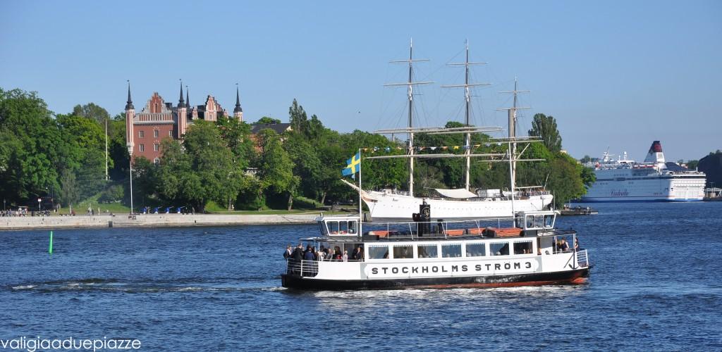 Guardate Stoccolma dall'acqua con una gita in battello