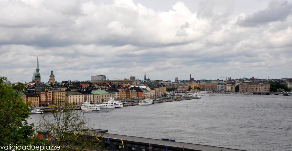 Panorama di Stoccolma da Fiskargatan