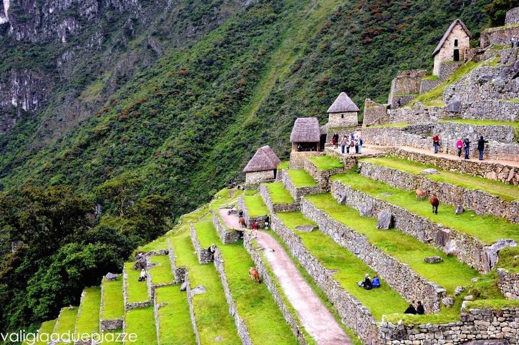 Il sito archeologico inca di Machu Picchu, sulle Ande peruane