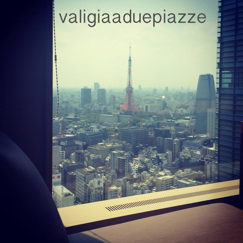 Vista sulla Tokyo Tower
