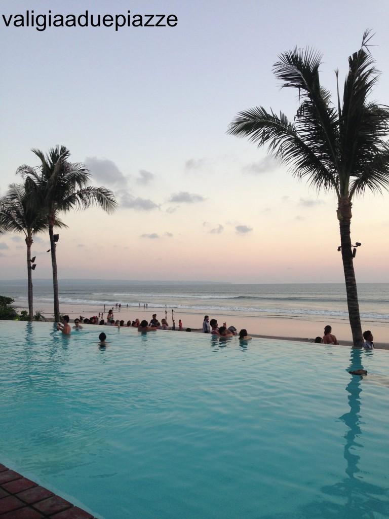 Tramonto a Seminiak Bali Indonesia